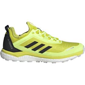 adidas TERREX Agravic Flow Trail Running Shoes Men, geel/zwart